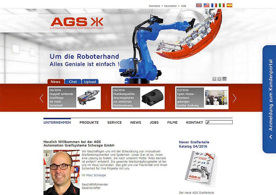 AGS Automation Greifsysteme Schwope