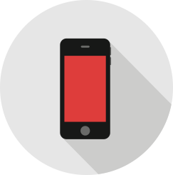 Online Marketing Trend Icon Mobile Phone